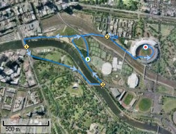 Melbourne Marathon 5km